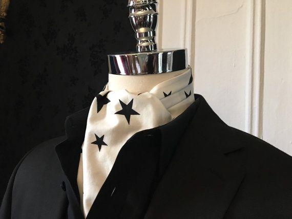 David Bowie Blackstar Inspired Cravat // by EdwinCamachoRivera