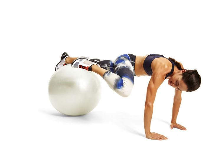 Work your core while giving hips much-needed movement. The Grasshopper Plank works double duty. #fitnessmagazine #workout