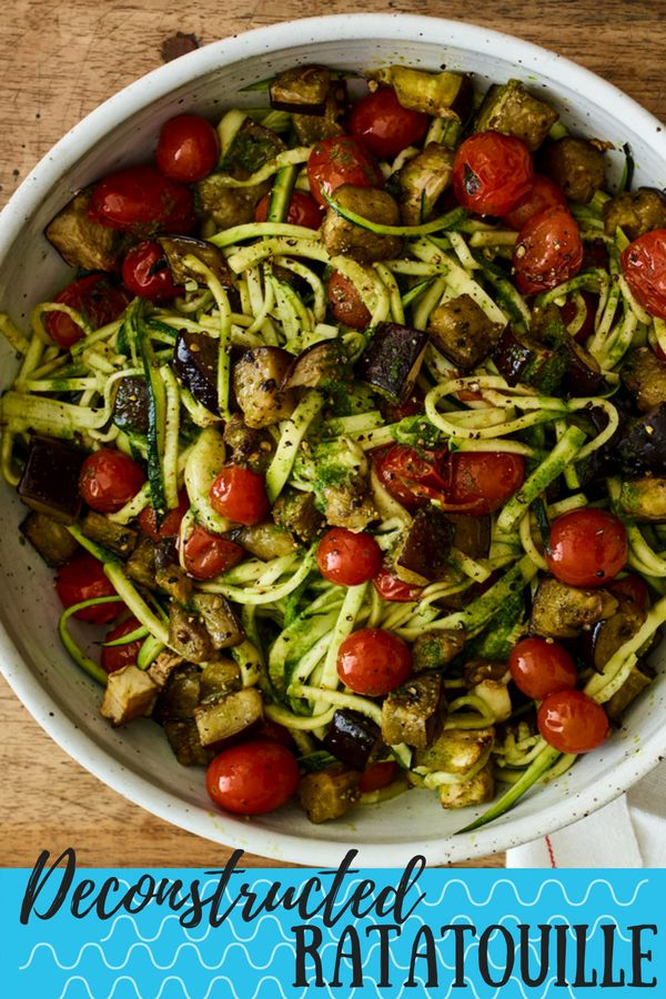 Ratatouille is a classic family recipe that finds its way to almost every meal throughout Passover. This version provides an updated twist on the flavors of ratatouille.