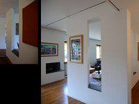 Abitazione a Monte Sacro – Roma Progettazione curata dalla Studio di Architettura Allproject Arredamento su misura in legno di Frassino laccato bianco a poro…