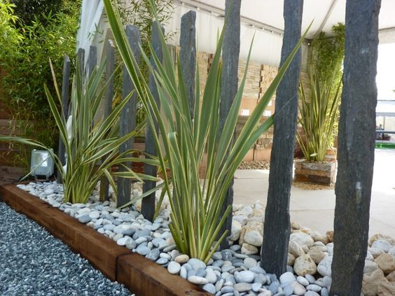 17 meilleures id es propos de patio en ardoise sur for Piquet ardoise jardin
