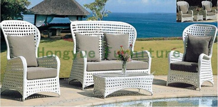 480.00$  Watch now - http://aia97.worlditems.win/all/product.php?id=32437857550 - Outdoor garden sofa set in rattan Outdoor sofa furniture