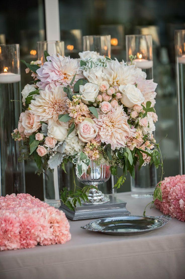 310 best dahlia arrangements images on pinterest dahlia dahlias cafe au lait dahlias wedding centerpiece izmirmasajfo