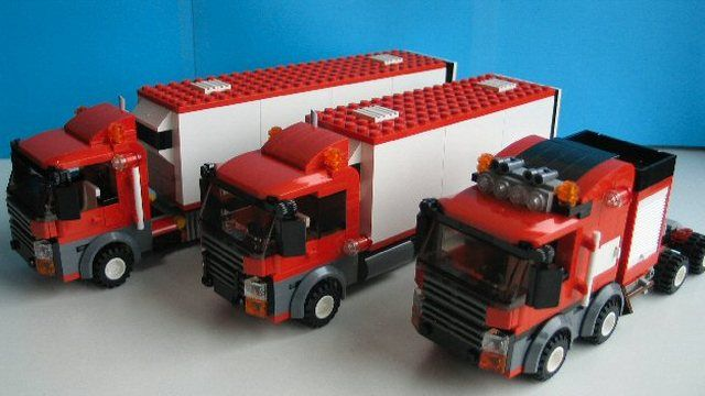 LEGO CITY truck Serie