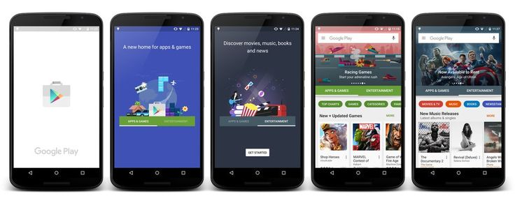 A first look at the Google Play store redesign   The Verge