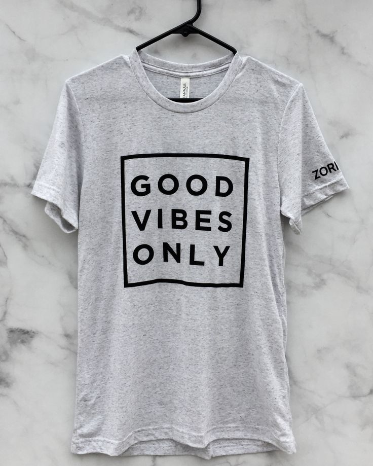 Join The Good Vibe Tribe Our top-selling tank now comes in two colors of the most comfortable t-shirt you'll ever own! 50 poly, 25% combed ringspun cotton, 25% rayon