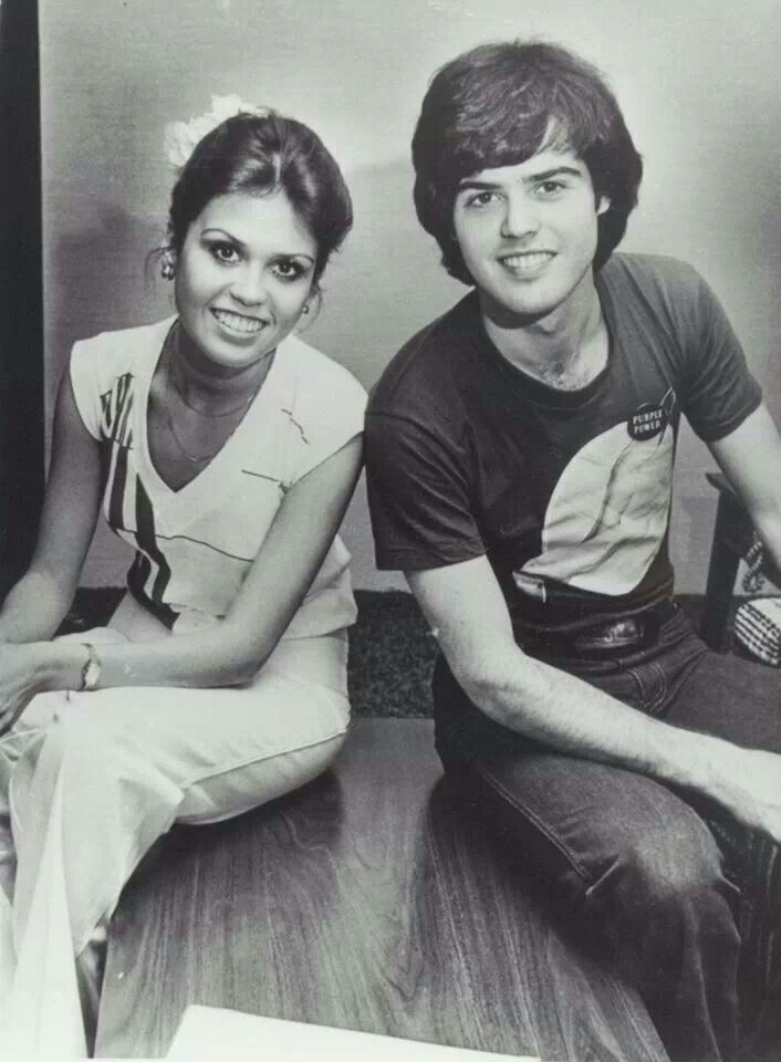 Adorable Siblings Donny And Marie Osmond