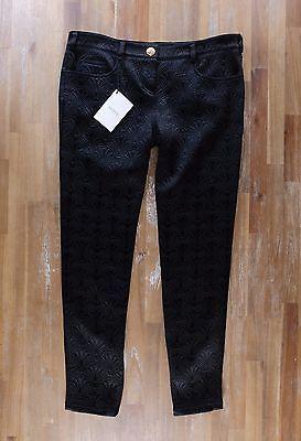 auth BALMAIN Paris black trousers pants - Size 42 FR - NWT