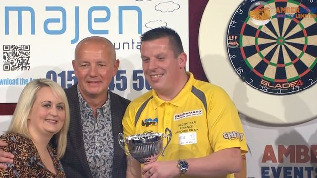 An amazing evening of top quality darts with the evenings trophy match between Adrian Lew and Dave Chisnall. Dave Chinall winning 10-1 to lift the Norwich Darts Masters Trophy.  Also stars; Terry Jenkins, Wayne Mardle, Jelle Klaasen, Stephen Bunting, Eric Bristow and Keith Deller, with Russ Bray as Caller.