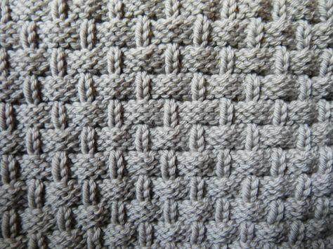 point de vannerie tricot pinterest tricot crochet tricot et crochet. Black Bedroom Furniture Sets. Home Design Ideas