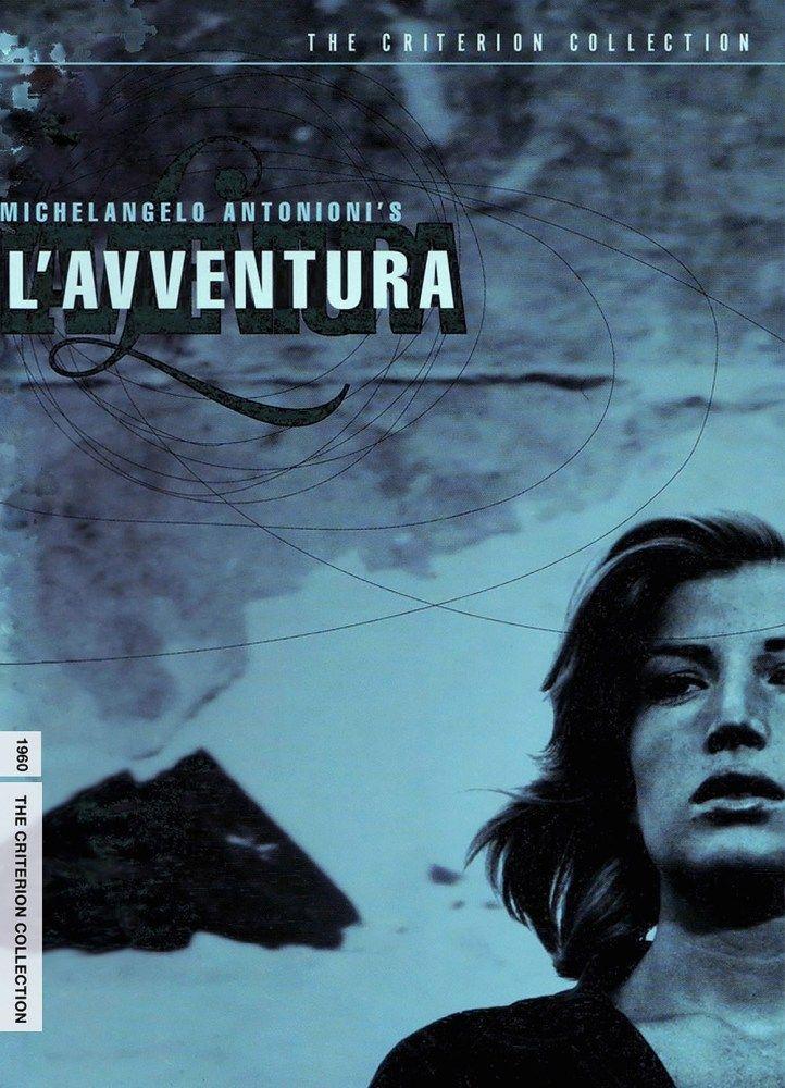 L'Avventura, 1960, Michelangelo Antonioni. With Gabriele Ferzetti as Sandro and Monica Vitti as Claudia.