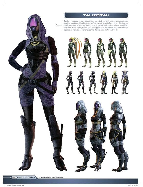 Tali Concepts-- I just want to know what her kind really looks like!