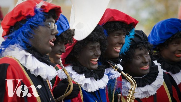 Explaining the Questionable Dutch Christmas 'Black Pete' Tradition of Wearing Blackface Makeup