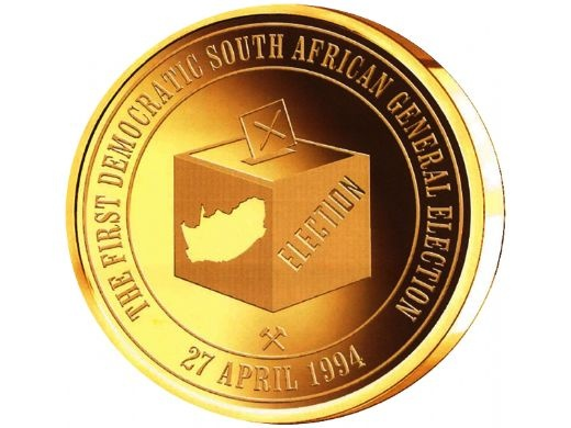 Nelson Mandela Presidential Gold Medallion Set