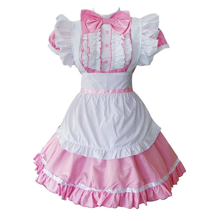 Colorful House Women's Cosplay Cat Ear French Apron Maid Fancy Dress Costume US | eBay