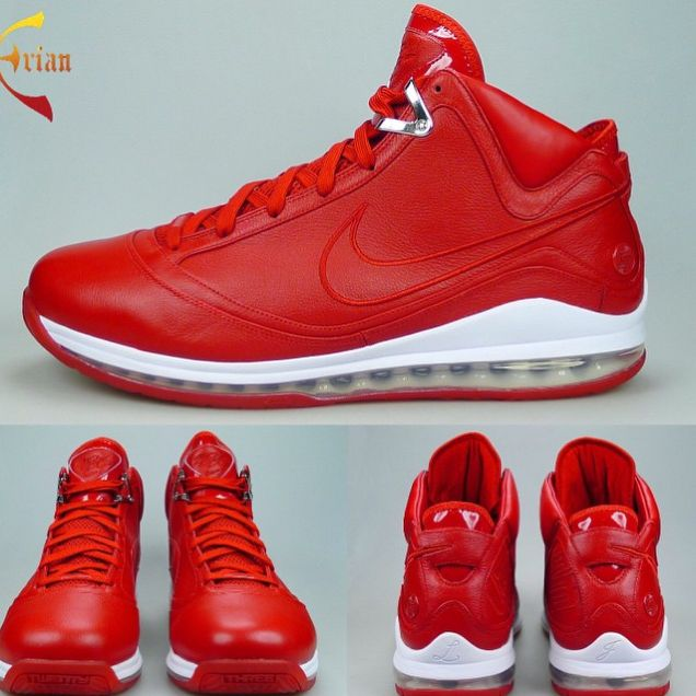LeBron 7 Red Leather