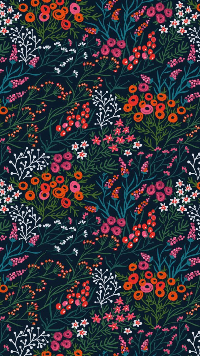 Summer Blooms | Anna Aniskina. Flora PatternFlower ...