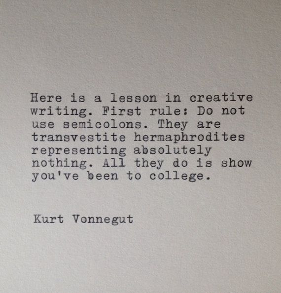 Quotes About Love Kurt Vonnegut : ... Typed Typewriter Quote Kurt vonnegut, Well Said Quotes and I love