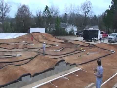 ▶ Great RC Off Road Tracks # 6 - Wolf Pack RC Race Track - Rockwell , Arkansas , USA - YouTube