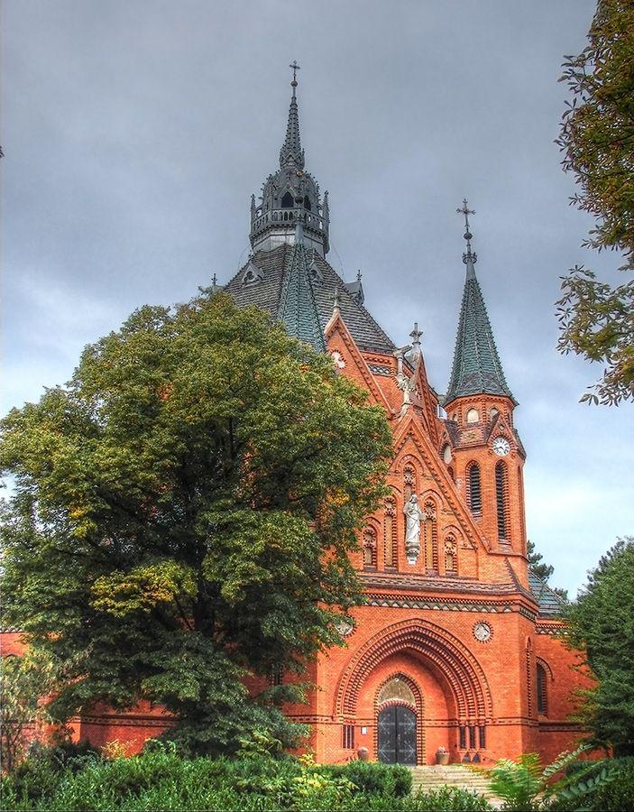 kostel Navštívení Panny Marie ( město Břeclav, 1895-1898)