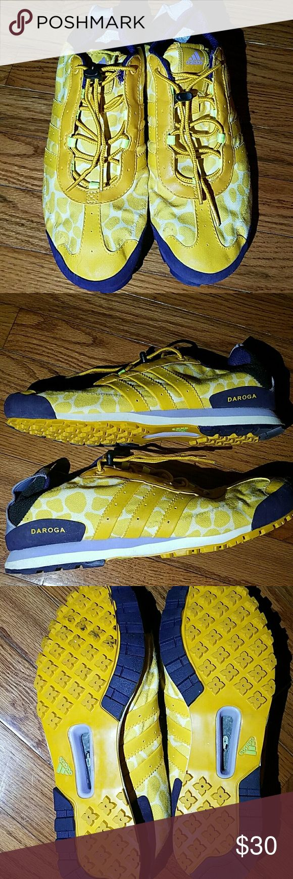 ADIDAS DAROGA Pre Loved but still very new! Size 10 women's.  Excellent tread,  climate cool. Adidas Shoes Athletic Shoes