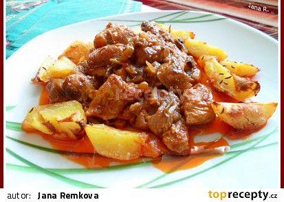 Sedlácké vepřové maso recept - TopRecepty.cz