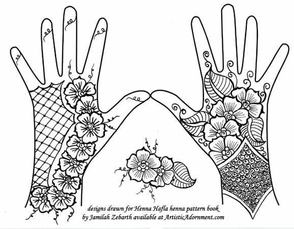 Henna Wrist Designs Lace: Lace Glove Madonna Henna Free Pattern Mehndi Designs: 150