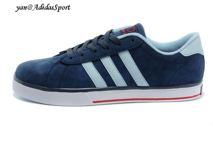 Men's Adidas SE Daily Vulc Lifestyle Shoes Navy/Argentina Blue/University Red HOT SALE! HOT PRICE!