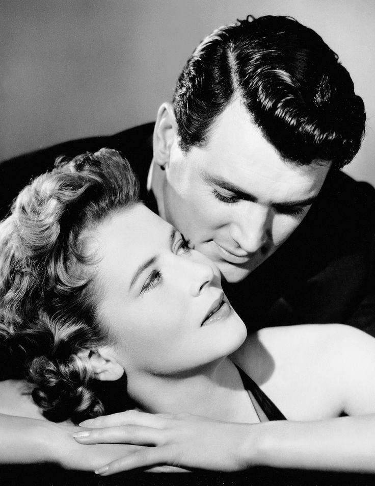 Rock Hudson and Cornell Borchers for Never Say Goodbye, 1956
