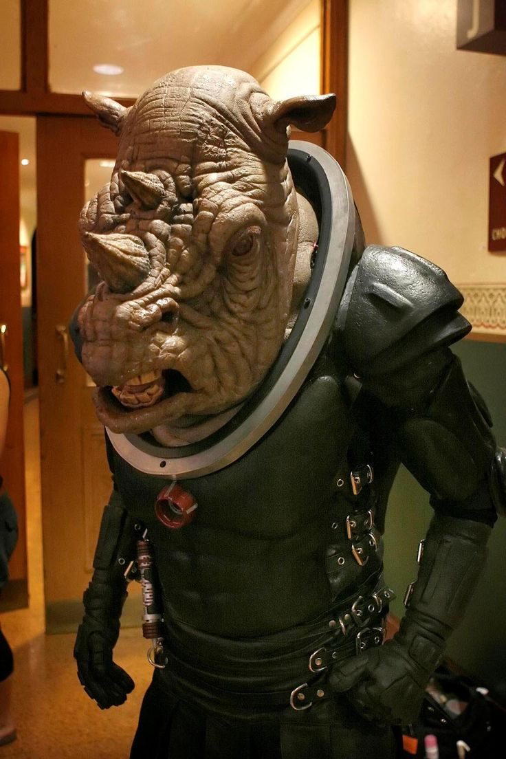 doctor who monsters and aliens | Downloadable Judoon mask (385KB)