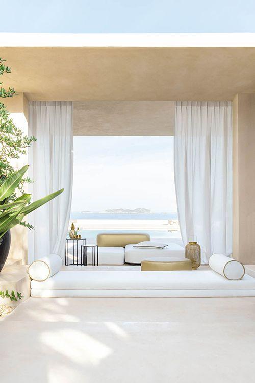 Ποιο ύφασμα κουρτινών μας προτείνετε για τα ενοικιαζόμενα δωμάτιά μας στην Πάρο;