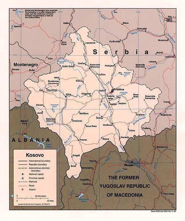 15 best kosova images on Pinterest Albania, Cards and Maps - copy kosovo map in world