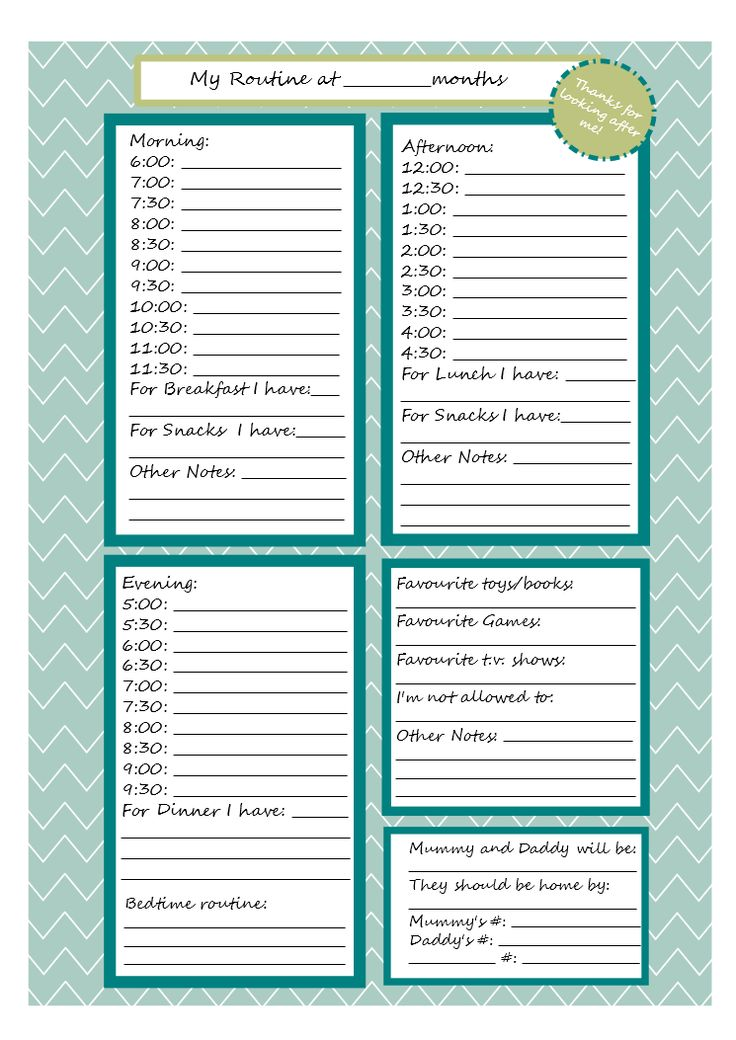 Printables Babysitting Worksheets 1000 ideas about babysitter notes on pinterest printable note sheet