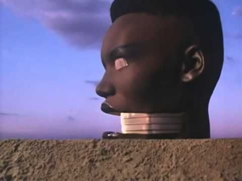"""Grace Jones - Slave to the Rhythm (official video reworked)-I heard """"Pull Up to the Bumper"""" today and it made me think of this song."""
