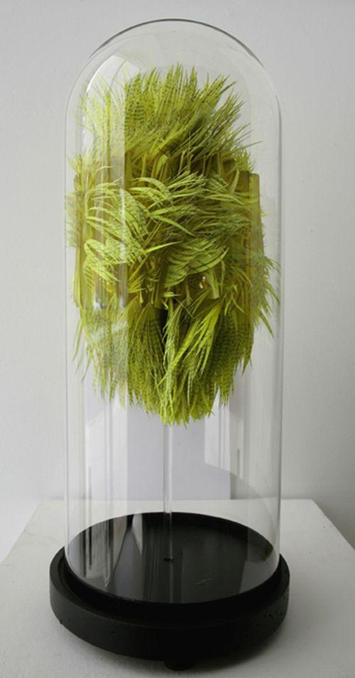 Hand-Cut Paper Sculptures Take on Organic Forms - My Modern Metropolis