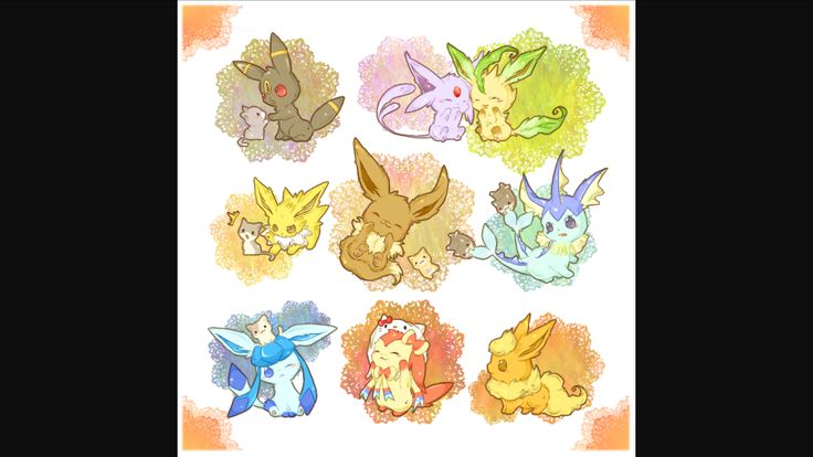 I love all the Eevee evolutions! Then again who doesn't?