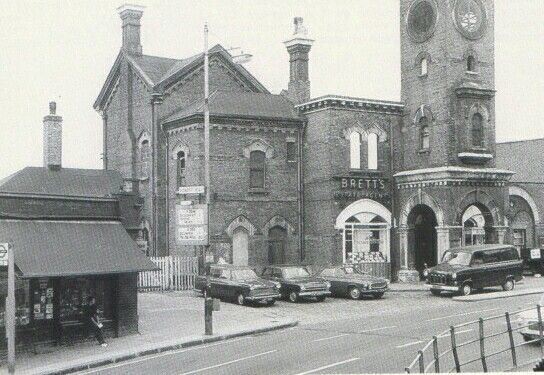 Forest Hill Station c.1970Anthony Sargeant around 1970 when The Alpine Coffee Bar was still operating just across the road - when we used to meet at weekends before going off to parties