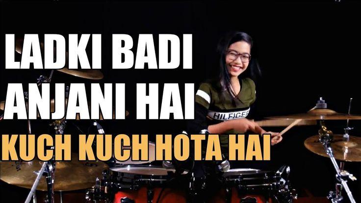 Ladki Badi Anjani Hai - Kuch Kuch Hota Hai   Drum Cover by Nur Amira Sya...