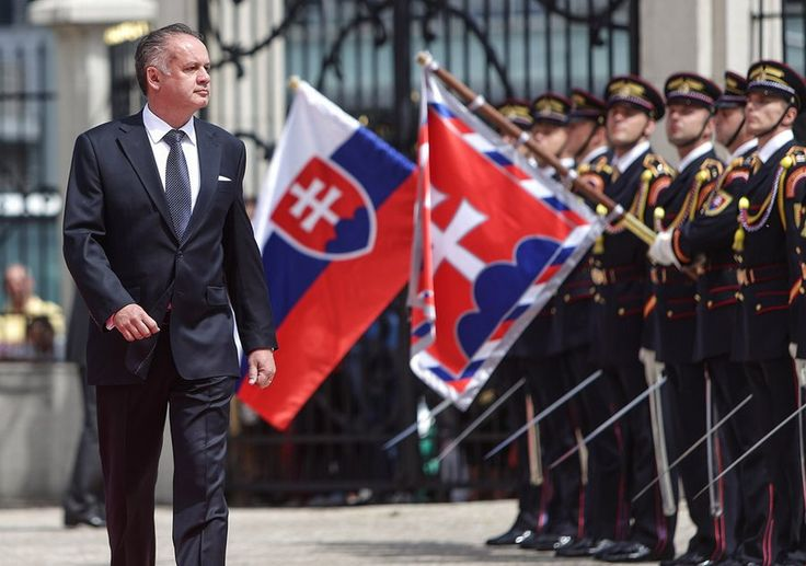 Andrej Kiska - president - Slovakia