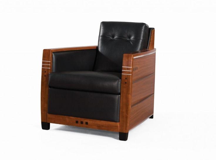 Schuitema Frank fauteuil Art Deco Decoforma - www.hoogebeen.nl/schuitema-meubelen/