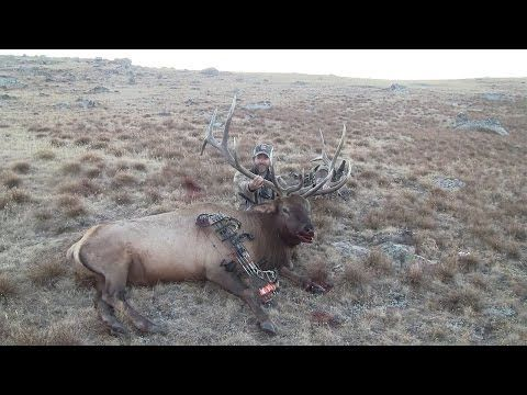 """Season 2, Webisode 6 - Wyoming Elk Hunting: Come join Frog and his elk hunting gang as they hunt public land to harvest several nice elk. Frog's 360"""" elk is a once in a lifetime accomplishment. Enjoy this webisode!"""