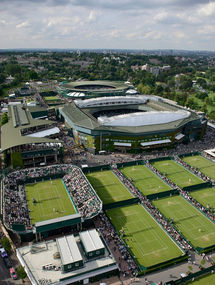 "Aren't London's Wimbledon courts perfect for your ""Tennis"" class? Take it through BYU Independent Study!"