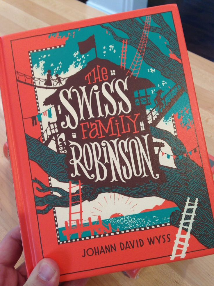 Swiss Family Robinson jacket by John Hendrix.