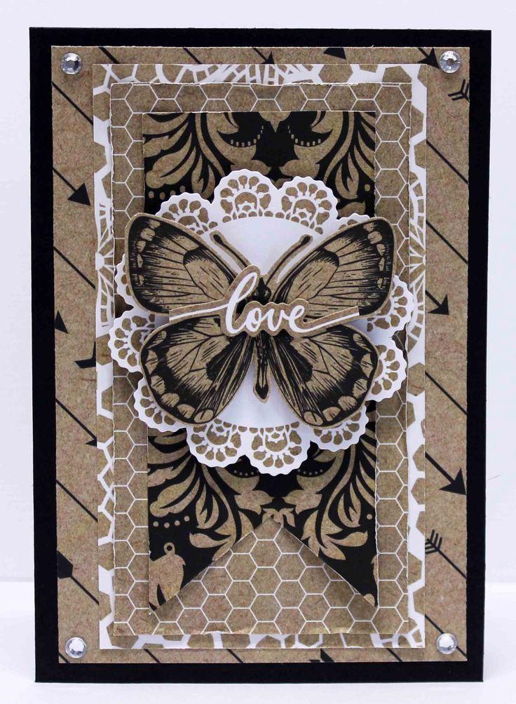 Mix & Match Love Card - Anita Bownds