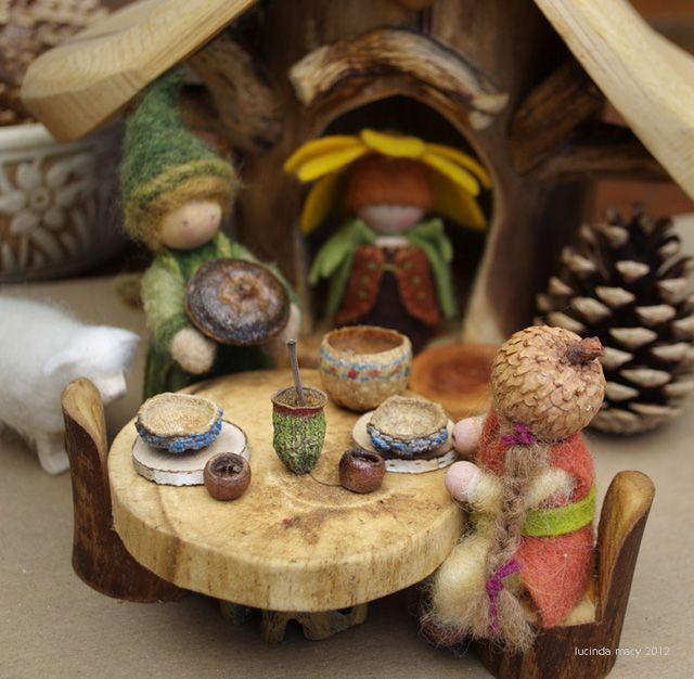 MAKING GNOME and FAIRY DISHES FROM SEED PODS | Natural Kids Team