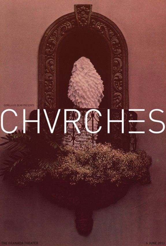 I have fallen madly in love.  Again. Vampire Weekend and Chvrches are the bd.