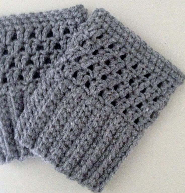 Free Knitting Pattern For Easy Slippers With Cuffs : 74 best Knit/Crochet - Boot Cuffs, Slippers images on ...