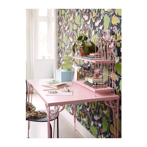 FALKHÖJDEN Elemento supplementare, scrivania - rosa - IKEA