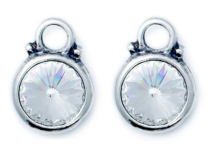 Swarovski Crystal earring charms (E2139)