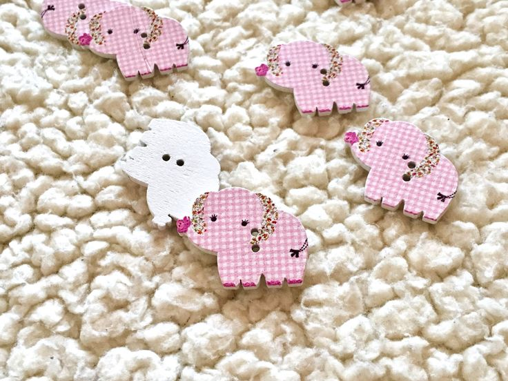 A personal favorite from my Etsy shop https://www.etsy.com/listing/519405883/elephant-buttons-elephant-button-animal